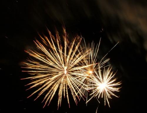 Mitől színes a tűzijáték?