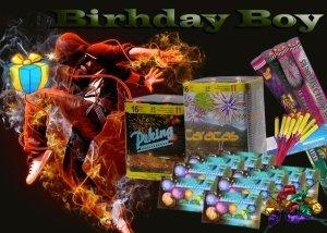 Birthday Boy tűzijáték születésnapra