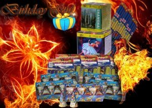Birthday Girl - tűzijáték születésnapra
