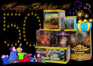 szülinapi tűzijáték csomag - HBXL - tűzijáték születésnapra