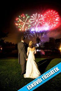 Tűzijáték esküvőre